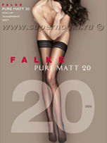 Falke Pure Matt 20 stay-up (41513)