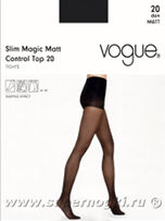 Vogue SLIM MAGIC MATT CONTROL TOP 20 (95842)