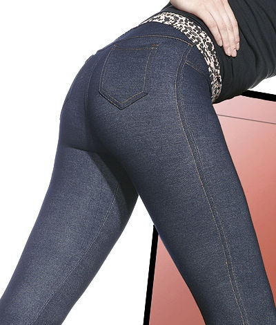 Bas Bleu Blanka Denim 200 leggings