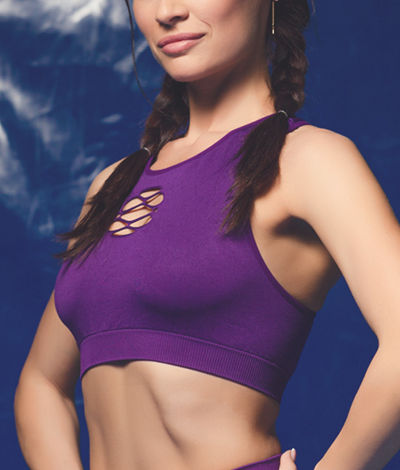 Giulia Sport Lacing Top